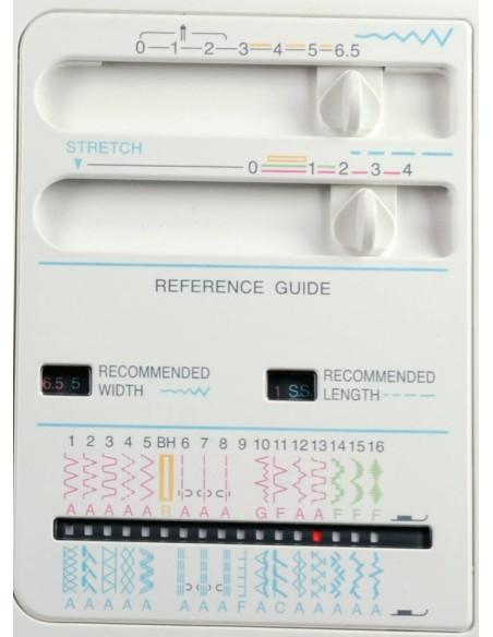 Macchina da Cucire Necchi 360   Ampia scelta di punti e regolazione ampiezza e lunghezza delle cuciture