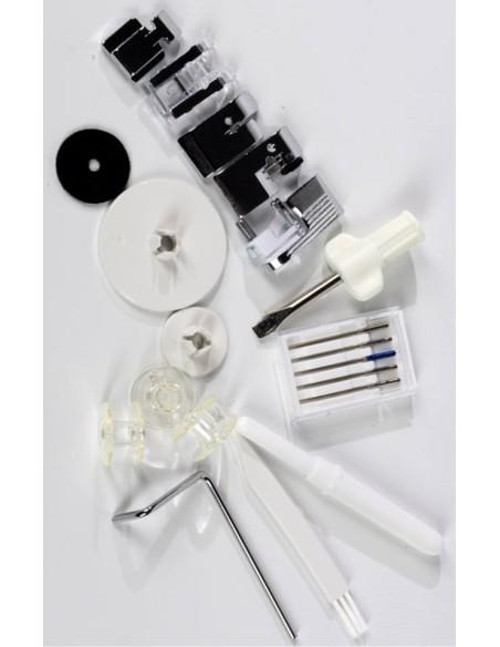 Macchina per Cucire Necchi 360   Ampia dotazione di accessori
