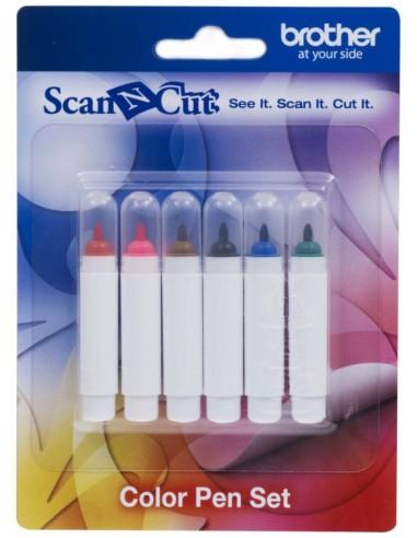 Pack lápices de colores para Brother ScanNCut