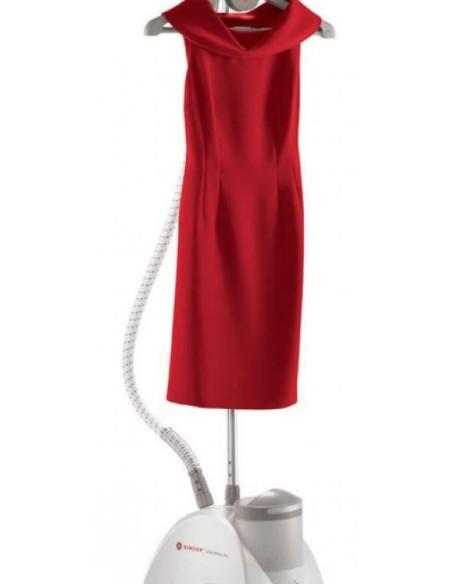 Con la Stiratrice Verticale Singer puoi rinfrescare i tuoi abiti grazie al vapore