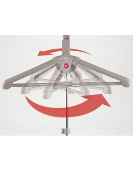 Stiratrice Verticale a Vapore Singer Swp | Maniglia girevole a 380° per un utilizzo comodo e veloce