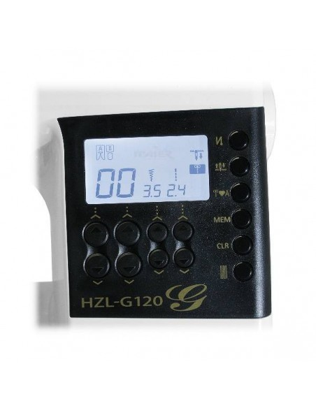 Macchina per Cucire Juki HZL-G120   Display Lcd luminoso e Tasiera comandi