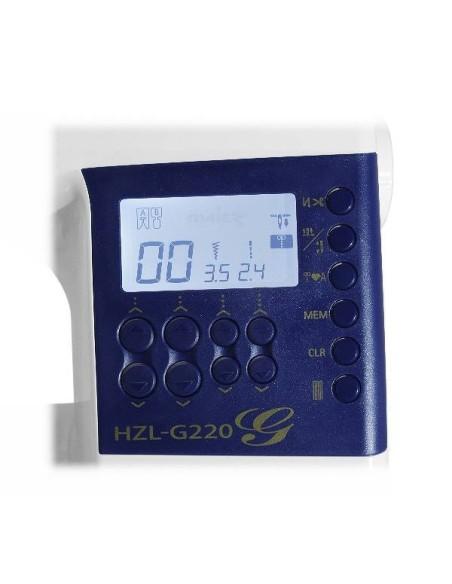 Macchina per Cucire Juki HZL-G220 | Ampio display Lcd e Tastiera comandi per un utilizzo semplice e immediato