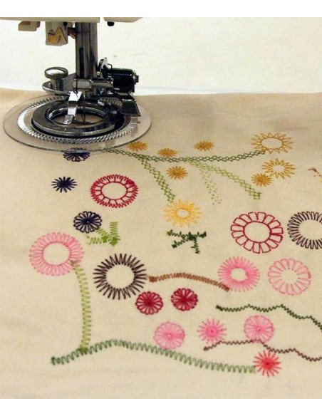 Piedino Flower Stitch Macchine per Cucire | Fantastici motivi floreali sulla tua biancheria