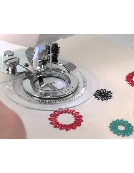 Piedino Flower Stitch per Macchine da Cucire | Dai sfogo alla tua creatività e realizza decorazioni uniche