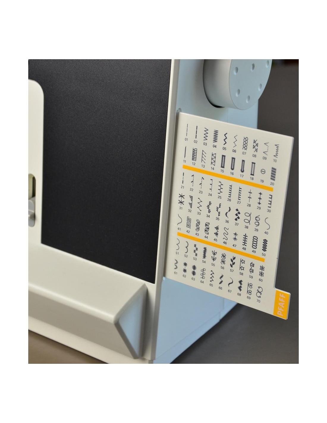La comoda tabella punti della macchina da cucire Pfaff Passport