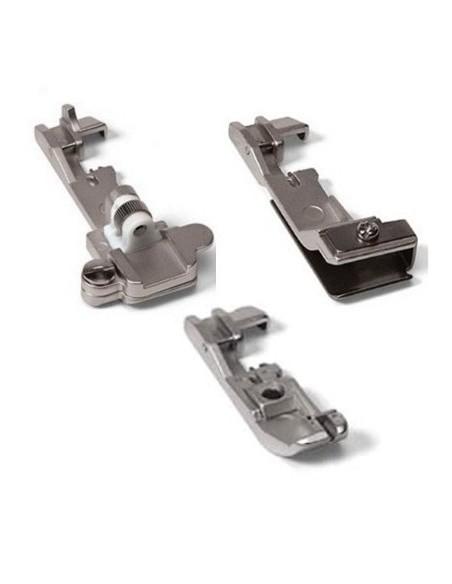 Il Kit 3 Piedini espande le potenzialità della taglia cuce Singer 14SH654 (optional)