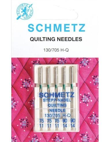 Agujas Schmetz Quilting para Máquinas de Coser