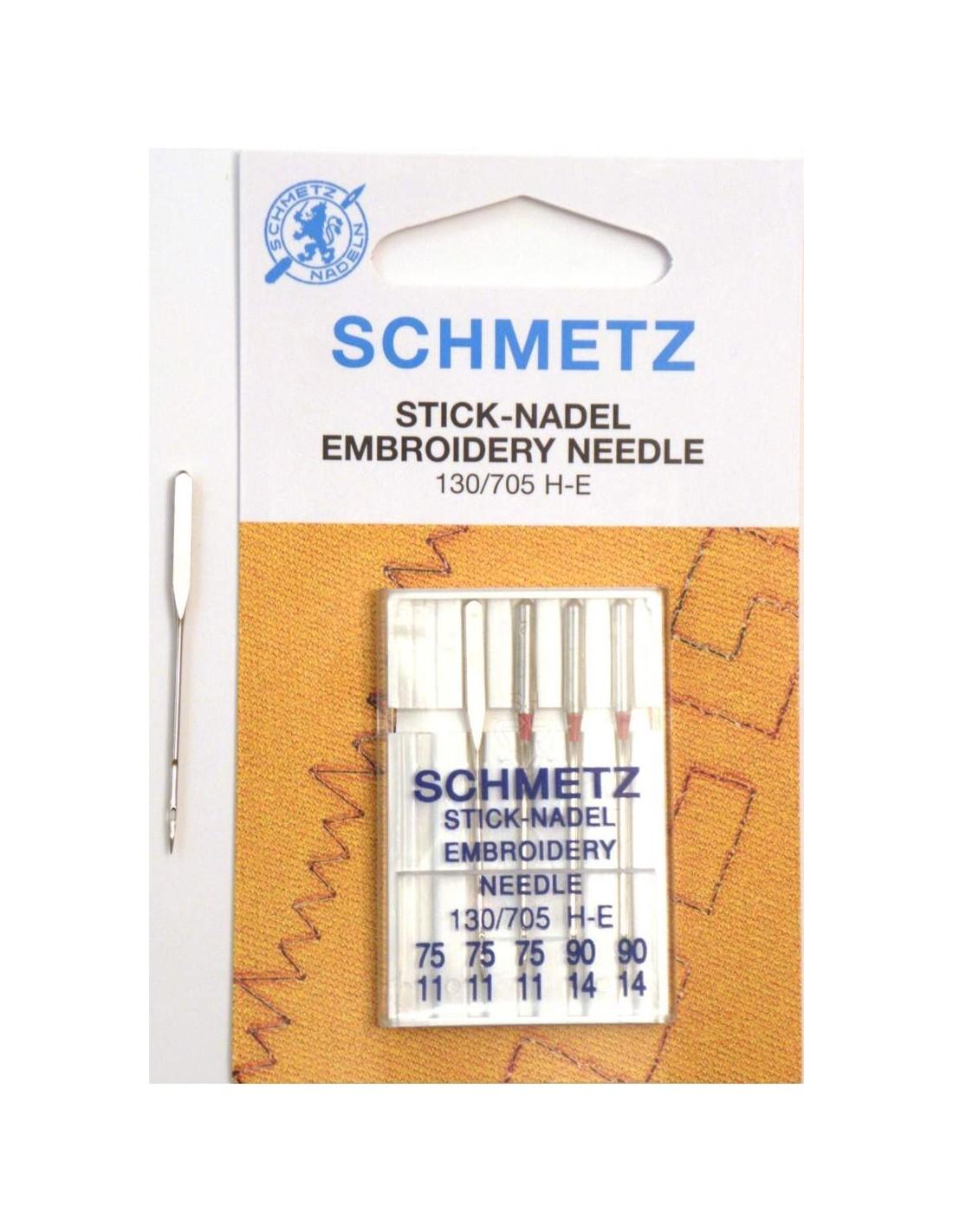 Aghi schmetz embroidery per macchine da cucire ricamatrici for Aghi macchina da cucire