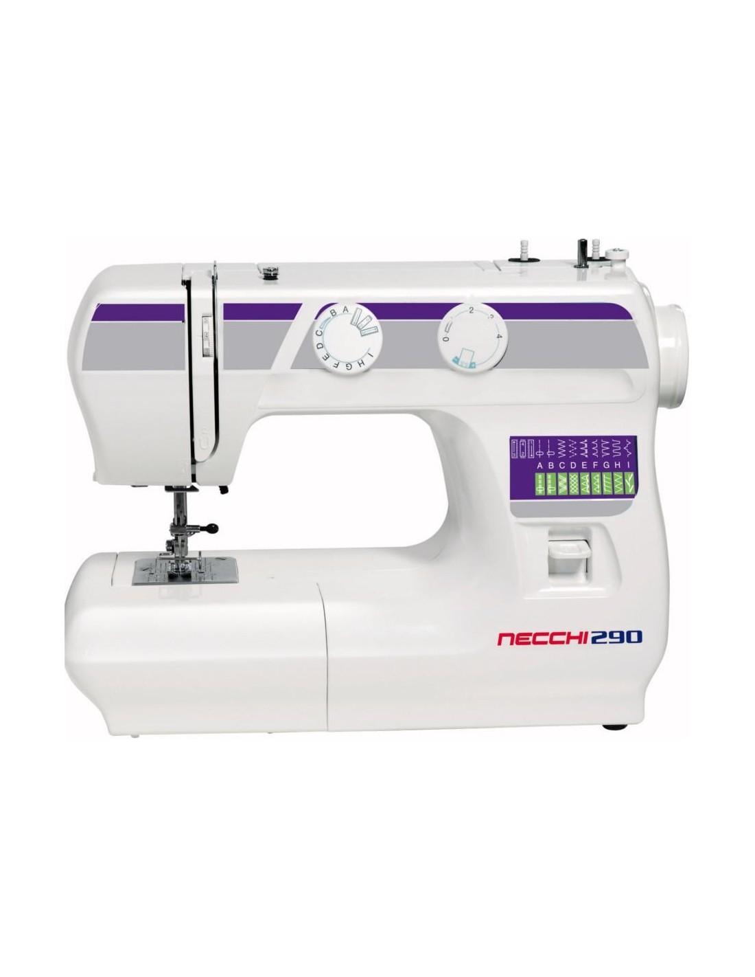 Macchina da cucire necchi 290 macchine per cucire for Macchina cucire necchi