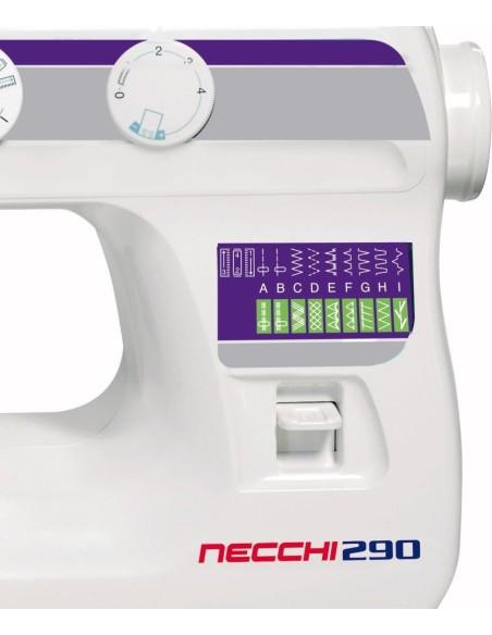 Macchina da Cucire Necchi 290 con punti Stretch e asola automatica