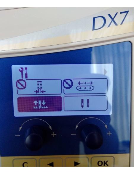 Le impostazioni della Juki HZL-DX7 sono personalizzabili