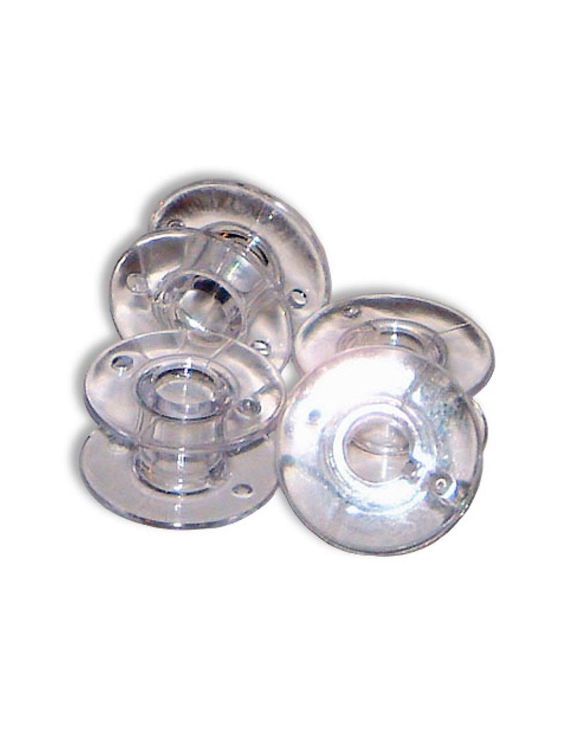 10 Bobinas Plástica Máquinas de Coser