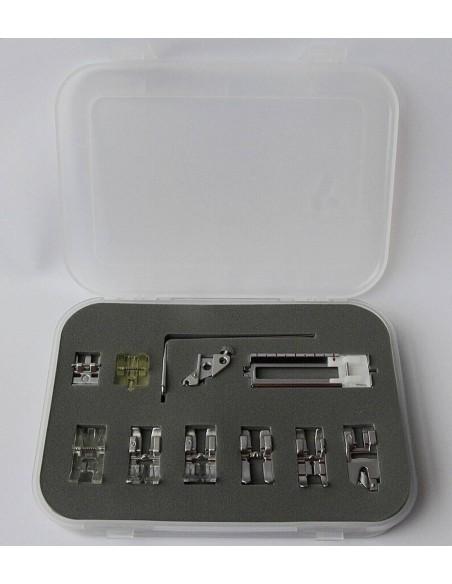 Kit Deluxe Piedini per Macchine da Cucire Pfaff con IDT