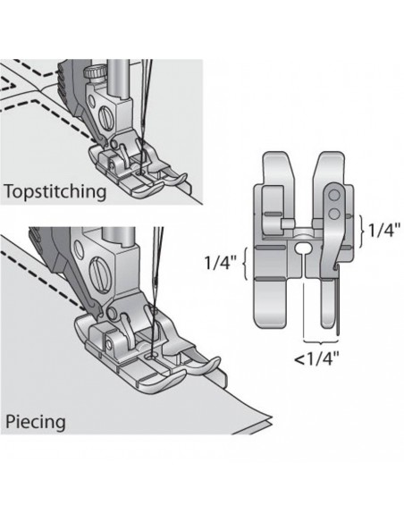 Pfaff Sewing Machines Quilting Foot with Guide