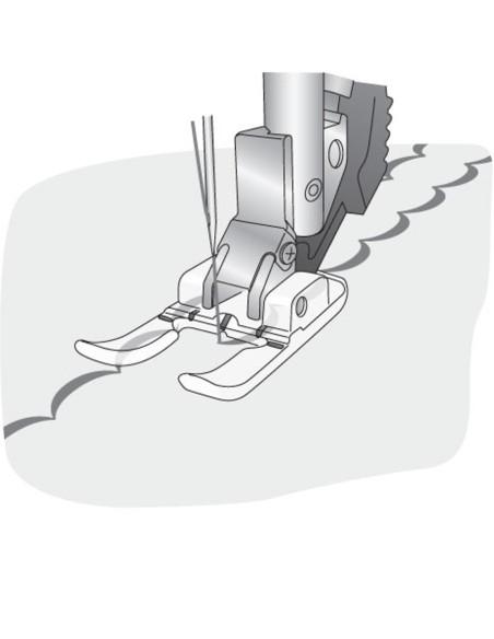 Il Piedino Aperto da 9 mm per Applicazioni per Macchine  Cucire Pfaff