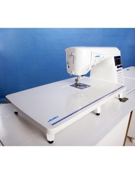 Il tavolo quilting è adatto alle Macchine da Cucire Juki Serie F-G-DX e permette di ampliare il piano di lavoro