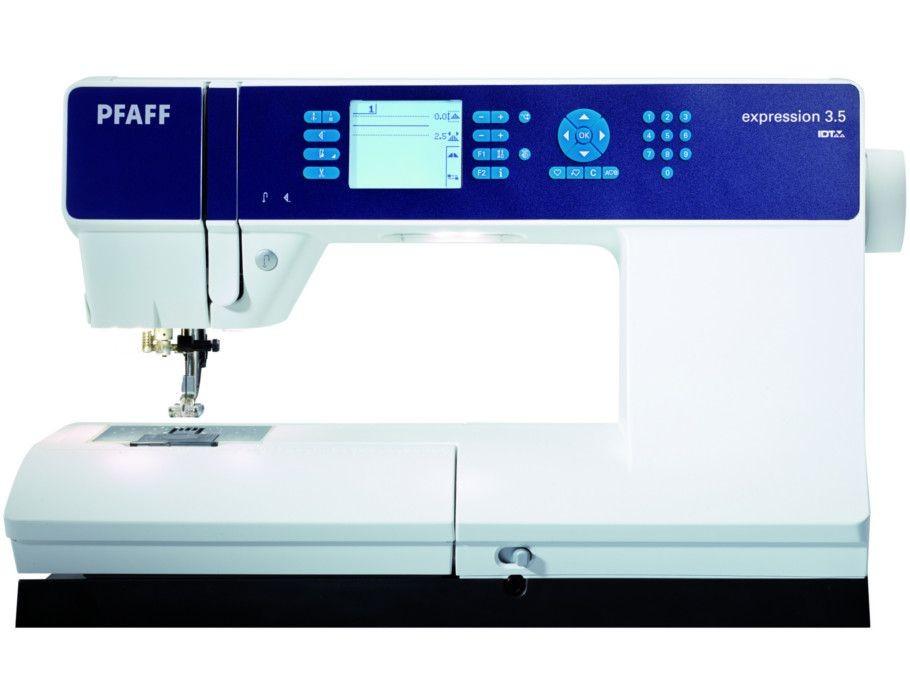 Macchina da cucire pfaff expression 3 5 macchine per cucire for Pfaff macchine per cucire