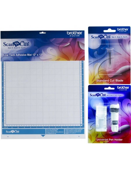 Kit Brother ScanNCut con Soporte Universal Lápices