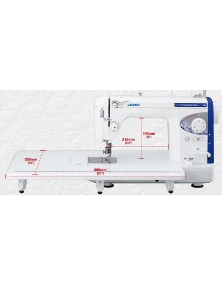 Macchina da Cucire Artigianale Juki TL-2200QVP Mini | Ampio spazio in larghezza ed altezza