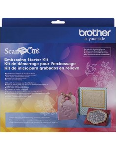 Starter Kit Embossing per Brother ScanNCut