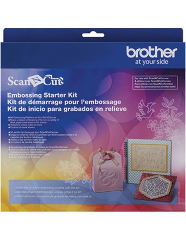 Kit de Inicio Embossing para Brother ScanNCut