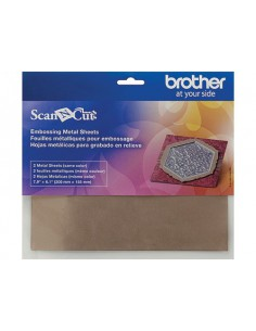 Fogli Metallici Bronzo per Embossing Brother ScanNCut
