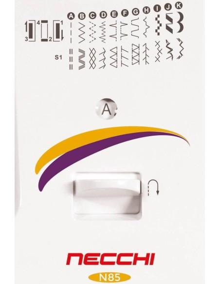 Dotazione di punti completa per la Macchina da Cucire Necchi N85
