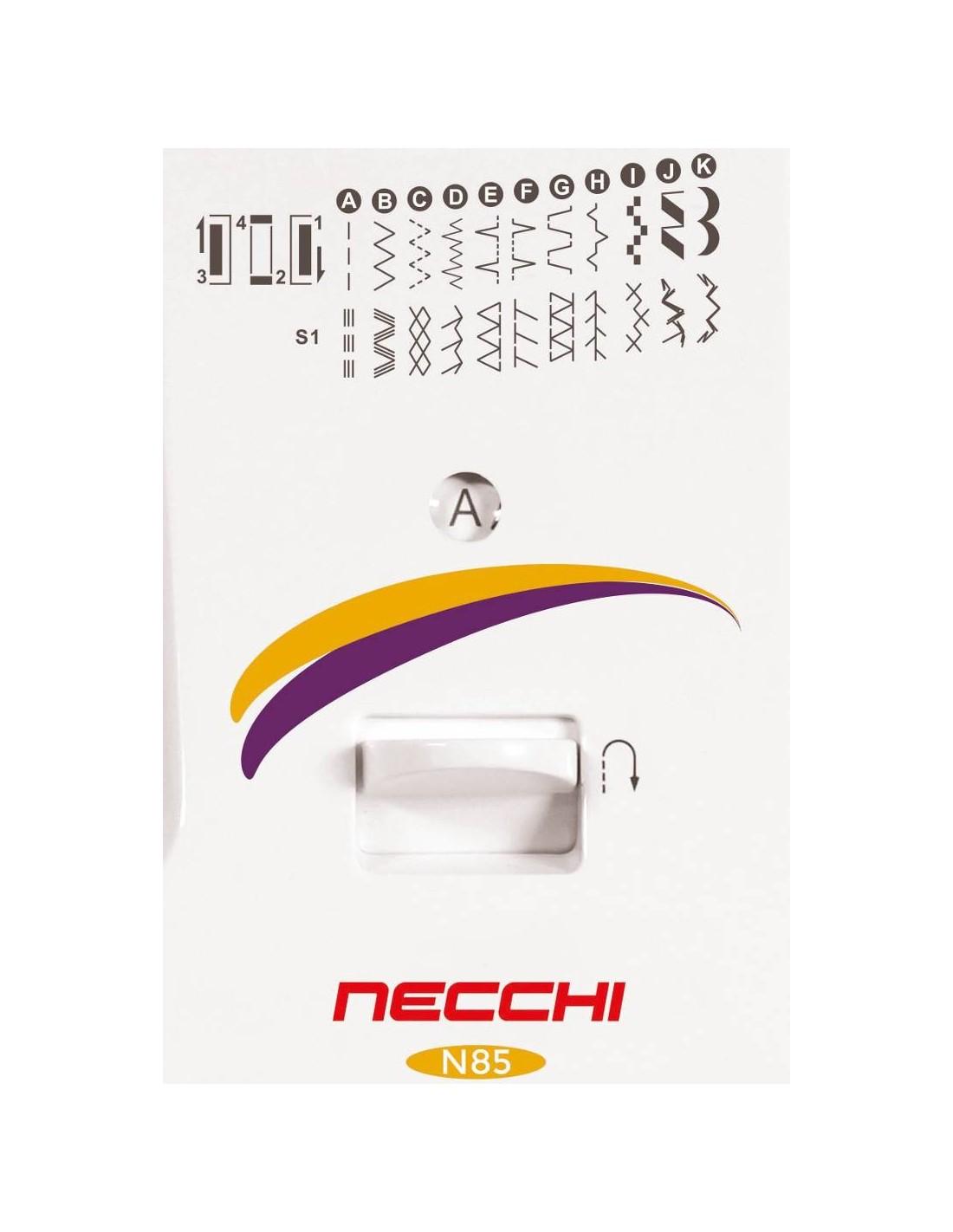 Sewshop macchina cucire macchine cucire tagliacuci for Macchine per cucire necchi prezzi