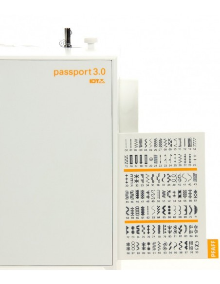 La guida dei punti estraibile della Pfaff Passport 3.0