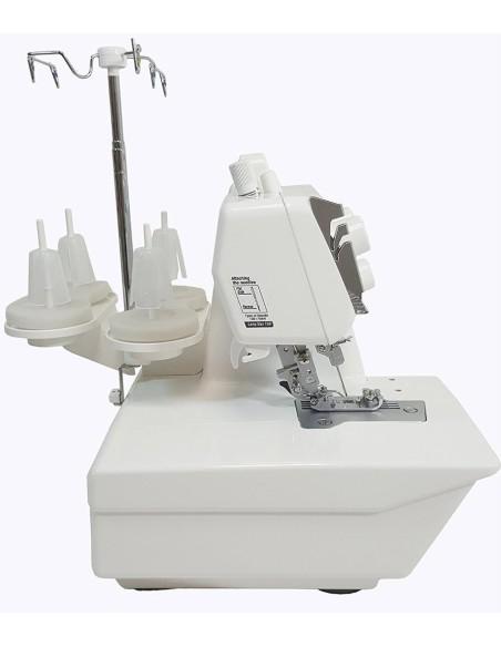 La Punto di Copertura Juki MCS1500 con lo speciale piedino premistoffa