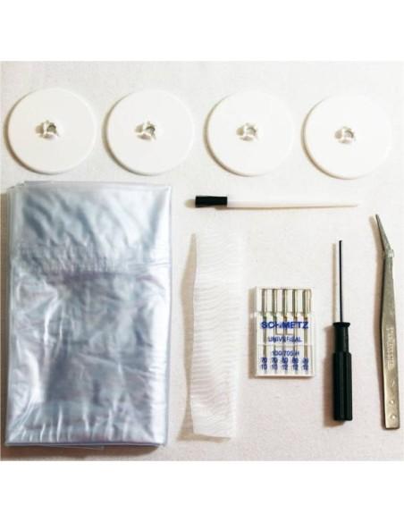 Gli accessori in dotazione della Macchina Punto Copertura Juki MCS 1500