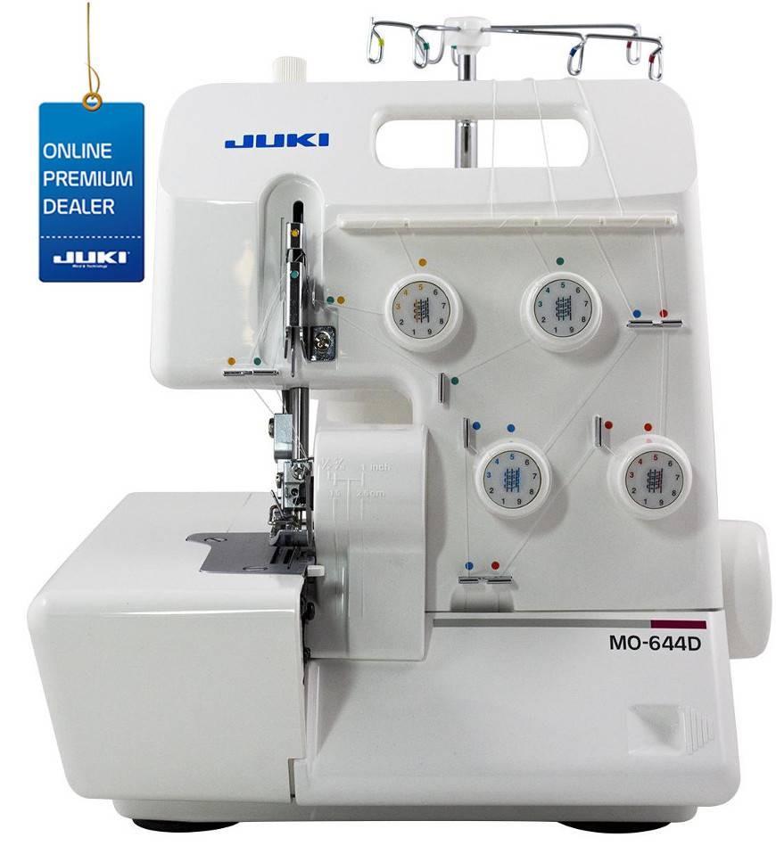 Tagliacuci juki mo 644d con differenziale taglia e cuci for Taglia e cuci necchi