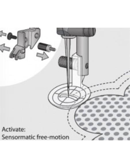 Prensatelas Eco Movimiento Libre máquina de coser Pfaff