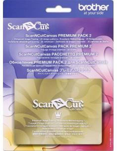 ScanNCut Canvas Premium Pack 2 Tracciamento immagini avanzato + 25 disegni