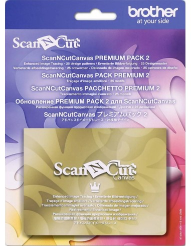 Hojas de plantilla Embossing Brother ScanNCut