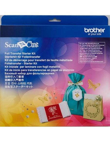 Starter Kit per Laminare con Fogli Metallici Brother ScanNCut