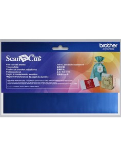 Foglio di Trasferimento Metallico Blu Brother ScanNCut