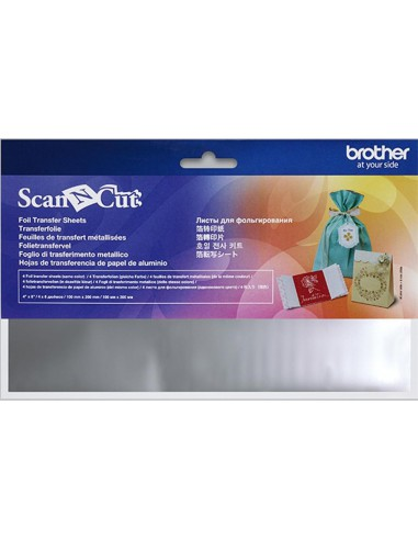 Brother ScanNCut Silver Foil Transfer Sheets