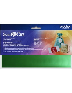 Brother ScanNCut Green Foil Transfer Sheets