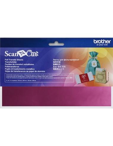 Hojas Rosa de Transferencia en papel de aluminio Brother ScanNCut