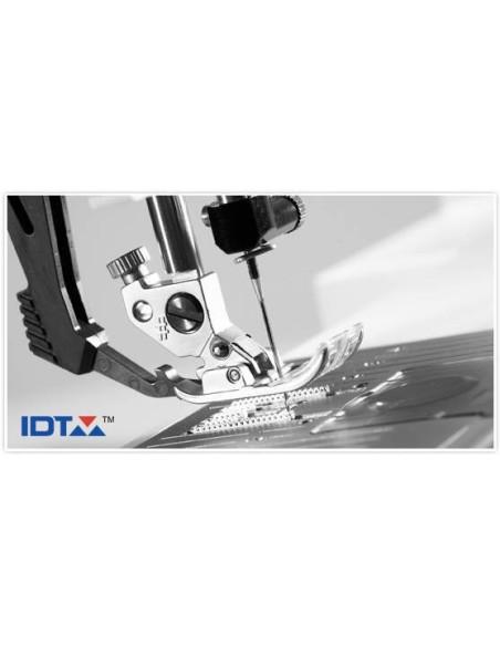 Il sitema IDT o doppio trasporto integrato di serire sulla Macchina da Cucire Pfaff Select 4.2