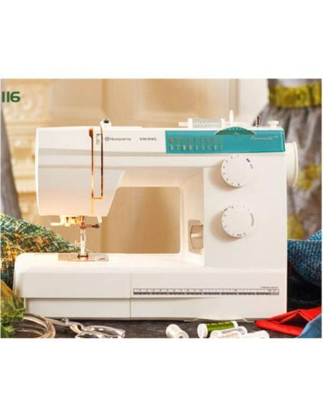 La macchina da cucire Husqvarna Emerald 116 ha tutto per il laboratorio sartoriale