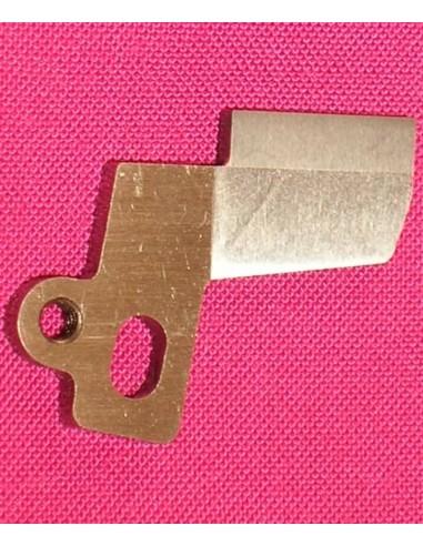 Lower Knife for Overlock Machines Singer Necchi White Jaguar