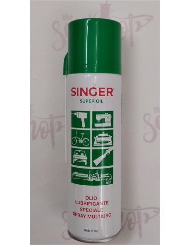 Olio Spray Singer per Macchine da Cucire