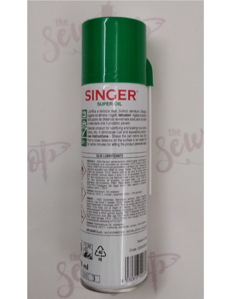Singer Sewing Machines Spray Oil