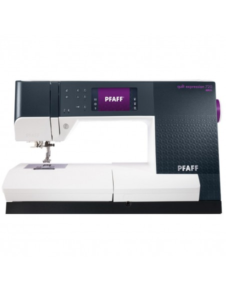 Pfaff sewing machine Quilt Expression 720: functionality and precision in sewing