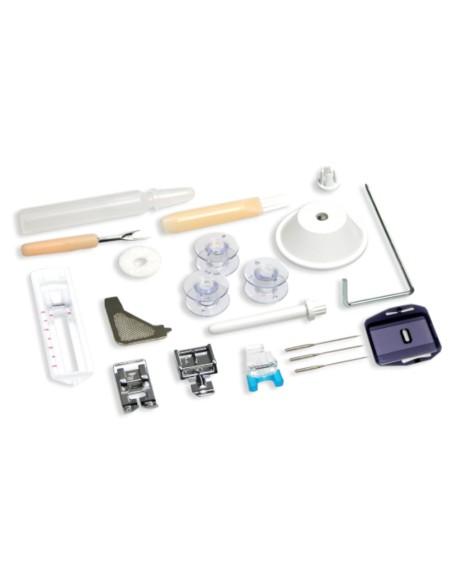 Accesorios incluidos con la máquina de coser Necchi K432A