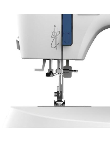 Infilare la macchina da cucire Necchi K432A è facile con l'infila ago automatico di serie