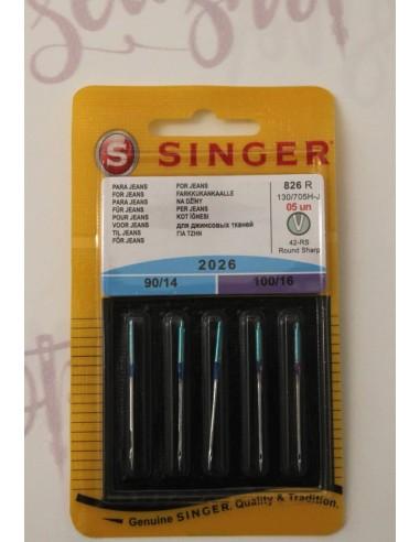 Aghi Singer per tessuto Jeans per Macchine da Cucire domestiche